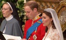 Kas kuninglikku pruutpaari valvas ninja-nunn?