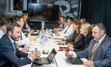 DELFI FOTOD: Koalitsiooniläbirääkimiste teisel päeval võeti luubi alla majanduspoliitika
