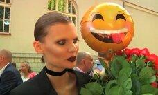 Milline šokeeriv lõpuaktuse look! Maailmas kuulsust võitev supermodell Alexandra Ljadov lõpetas keskkooli, et poleks piinlik