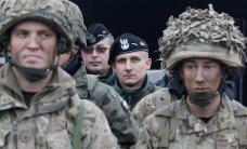 ФОТО: В Латвию на масштабные учения прибыли 500 британских военных