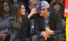 FOTOD: Nunnuhoiatus! Mila Kunis ja Ashton Kutcher veedavad koos imearmsa pisibeebiga aega!