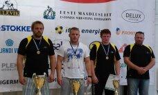 Eesti meistriks tuli vabamaadluses absoluutkaalus Kaarel Maaten