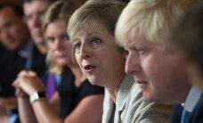Theresa May: Suurbritannia ei kavatse tagaukse kaudu EL-i jääda, piir Euroopaga pannakse kinni