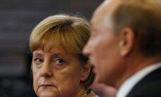 Merkel keeldus pärast pikka mõtlemist Putini paraadikutsest