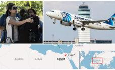 Потерпел крушение летевший из Парижа в Каир самолет EgyptAir c 66 людьми на борту