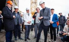 Заложен краеугольный камень будущего Рынка Балтийского вокзала