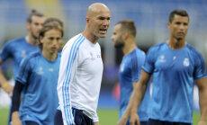 Zinedine Zidane ja Reali mängijad