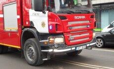 Päästeauto sattus Pärnus avariisse