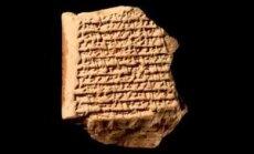 Savitahvlike näitab, kuidas muistsed babüloonlased Jupiteri taevast üles leidsid