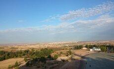 Guadalajar on varajane hommikutund. Vaade korvpallikoondise hotelli aknast