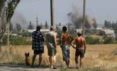 Separatistid vallutasid Kagu-Ukrainas seitse asulat, kohalike julgeolekujõudude väitel Venemaa abiga