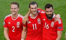 ВИДЕО: Футболисты сборной Уэльса радуются поражению англичан