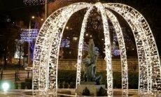 VIDEO: Tallinna jõulutuled käivad trendidega kaasas, linna jõulurüü on rõõmuks omadele ja külalistele