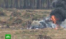 VIDEO: Venemaal alla kukkunud kopteri piloot ronis ise põlevast vrakist välja