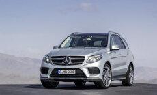 Mercedes-Benz esitles krossoverit GLE