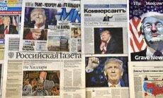 Trump võitis süsteemi! Kas Trump lõpetab kohe sanktsioonid? Nii nägid välja eilsete Venelehtede esikaaned.