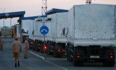 Vene humanitaarkonvoi liikus loata Ukrainasse