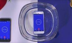 VIDEO: Mis juhtub kui Google'i veekindel telefon ära uputada?