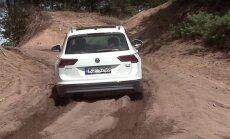 Motorsi proovisõit: uus VW Tiguan - kui vaja, saab ka mäkke