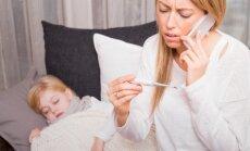 Helistades peaksite nõustajale esmalt täpsustama, kas muretsete iseenda või kellegi teise, näiteks lapse haiguse pärast.