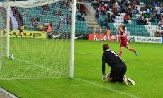 Eesti Läti jalgpalli maavõistluse väravad