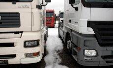 Минтранс РФ запретил передвижение украинских фур по территории России