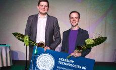 Aasta kõige keskkonnasõbralikum ettevõte on Starship Technologies OÜ
