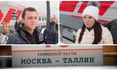 """ВИДЕО DELFI: """"В спа пойдем и глинтвейну попьем"""". Как российские туристы будут отдыхать в Таллинне?"""