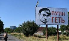 Meikar Ida-Ukraina linnas: linnaelanikud on näinud siin nii rindelt saabunud haavatuid kui ka hukkunuid
