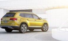 Volkswagen esitles seitsmekohalist maasturit Atlas