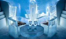 ВИДЕО: Как выглядит изнутри шведский ледяной отель
