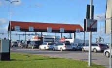 Praamijärjekord Virtsu sadamas 30.09.16