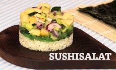 Unusta riisipulgad — valmista sushisalat!