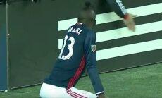 VIDEO: Võimalik ainult Ameerikas! Värava löömise järel twerkinud ründaja sai MLS-liigas kollase kaardi