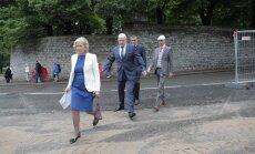 ФОТО: Каллас, Йыкс и Репс представлены в кандидаты на пост президента