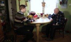 Kaks Eesti riigi eakaaslast. Mihkel Tamm on sündinud aastal, kui Eesti taasiseseisvus, Eduard Kuuskord 99 aastat tagasi.