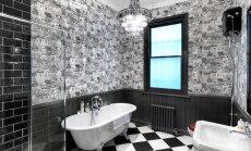 FOTOD: Must värvitoon vannitoas?! Vaata, kas sobib
