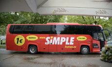 Simple Express värvib lahkunud Superbusi eeskujul bussid punaseks ja avab uue liini