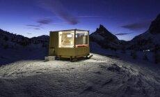 VIDEOD | Mägimaja, mille juurde ei vii ühtki teed, pakub võimalust voodist tähistaevast imetleda