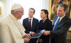 Miljardär astus Itaalias käies ka paavsti juurest läbi
