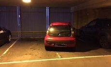 ФОТО читателя Delfi: пример того, как не надо парковаться