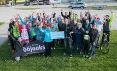 Kevadjooksjad kogusid Vinni perekodu lastele 1500 eurot
