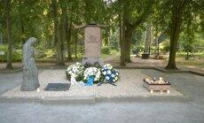 Rannu kalmistul taastati Vabadussõja ausammas