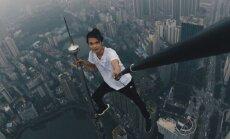 Смерть из-за красивого кадра: популярный китайский руфер сорвался с крыши 62-этажного небоскреба