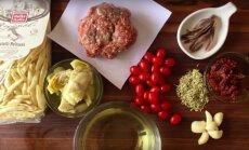 KIIRE ÕHTUSÖÖGI SOOVITUS: Chorizo-kirsstomati pasta