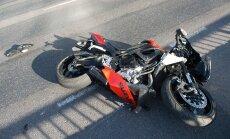 Liiklusõnnetus mootorrattaga