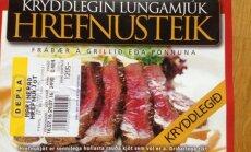 Reykjaviki turult leiab vaalaliha lausa erinevates kastmetes