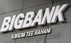 Bigbank: Eestis põetakse raskekujulist finantslaiskust