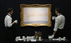 Finantsturgude langus pitsitab. Maailmakuulsate kunstnike maalide hinnad langevad