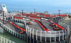 Maailma esimene kruiisilaev, mis saab oma Ferrari võidusõiduraja